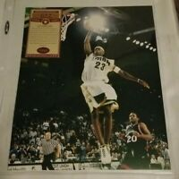 NBA GREAT LeBRON JAMES Hand-Signed Autographed 8x10 High School Photo with COA