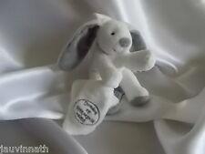 Doudou lapin et son mouchoir, attache tétine, Doudou et compagnie (cie)