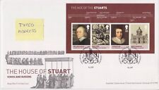Tallents PMK GB Royal mail FDC 2010 STUART foglio in miniatura