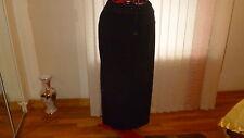 NWT Michael Kors full length terry skirt elastic waist side slits black size 3X.