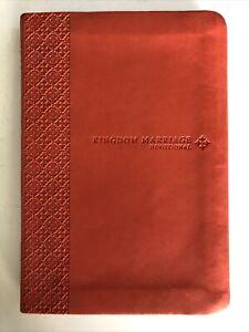 Kingdom Marriage Devotional - Imitation Leather By Evans, Tony - VERY GOOD