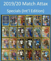 #1-#198 2018//19 UEFA Champions Soccer Cards Match Attax Buy 3 Get 2 FREE