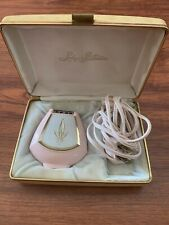 Vintage Pink Lady Sunbeam Ladies Shavemaster Electric Shaver/Razor WORK
