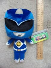 """BLUE Mighty Morphin Power Ranger Collectible Plush Soft toy 8"""" MMPR New Funko"""
