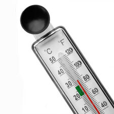 Fish Tank Aquarium Thermometer Glass Meter Water Temperature Gauge Suction Ic1U