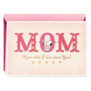 Hallmark  -    Peanuts® Snoopy Birthday Card for Mom