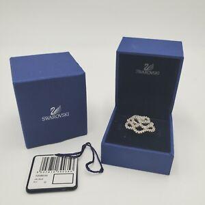 Swarovski Hortense Ring 52 Crystal Rhinestone size 6 Small Bedazzled Jewelery