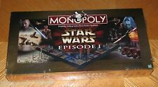 STAR WARS Monopoly 3-D Game Episode 1 - Sealed Vintage 1999 Hasbro Parker Bros I