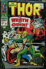 THOR# 147 Dec 1967 1st Origin of the Inhumans Part 2 Kirby Art KEY: 9.0 VF-NM