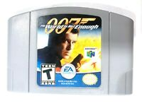 007: The World Is Not Enough NINTENDO 64 N64 Game Tested + Working & Authentic!