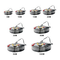 5M-100M BNC RCA Cable DC Power and Video Lead For CCTV Security Camera DVR