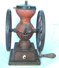 Antique CAST IRON Enterprise COFFEE GRINDER MILL Philadelphia USA 1873