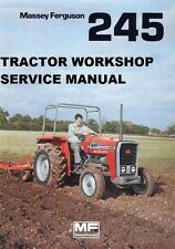 MASSEY FERGUSON MF245 WORKSHOP SERVICE MANUAL 180pg with MF 245 Tractor Repair