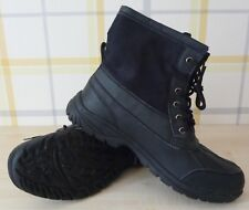 MENS NEW FUR LINED BOOTS IDEAL FOR RAIN AND SNOW SIZE  9/43