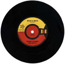 "BOBBY ADAMS  ""WHAT A MESS""    KILLER 60's R&B CLASSIC"
