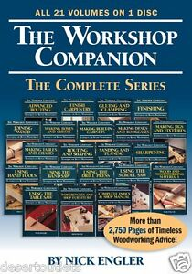 The Workshop Companion The Complete Series By Nick Engler - 21 Volumes on 1 Disc