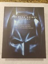 New listing The Dark Knight Trilogy - Blu Ray - Batman Begins - Dark Knight - Knight Rises