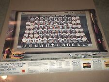 Dallas Cowboys Team Poster 1991 Troy Ailkman Emmitt Smith Kodak Advertising 18in
