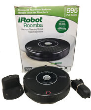 iRobot Roomba 595 Pet Series Vacuum Cleaner Robot Aerovac Carpet Dog Hair #8238