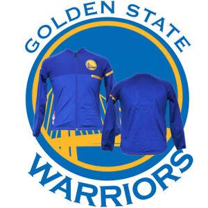 NBA Golden State Warriors Basketball adidas Blue 4X Champion Youth's Medium Top