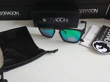 99f8eaaeafc Dragon Drac H2O Matte Black Green Ion Polarized Floating Sunglasses NIB 2018