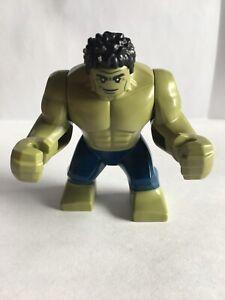 GENUINE LEGO MARVEL SUPER HEROES HULK LARGE FIGURE 76131 NEW