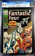 Fantastic Four Comics #114 OW/W CGC grade NM 9.4 GORGEOUS, EXCEPTIONAL COPY
