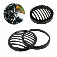 """5-3/4"""" Headlight Light Grill Cover CNC For Harley Davidson Sportster XL883/1200"""