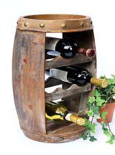 Botellero Para Vino Madera Recipiente 1555 barra soporte botellas 50cm Barril