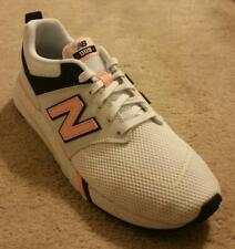 NEW BALANCE Women's 009 Athletic Sneakers White/Black/Pink USA Size 9 - NEW!!