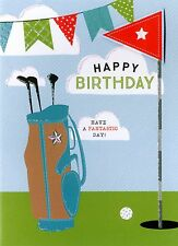 Happy Birthday Golf Greeting Card Second Nature Yours Truly Cards