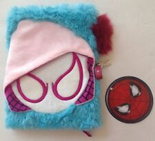 Marvel Spider-Man Fuzzy Journal with Lock & Key