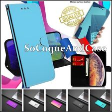 Etui coque housse Miroir Stand Wallet Mirror Like Surface Case Cover Nokia 1.3