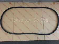 Toyota Corolla cp AE86 2Door Coupe Rear Trunk Weather Strip Seal Genuine OEM
