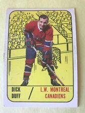 1967-68 TOPPS #2 DICK DUFF