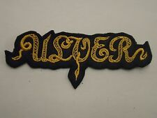 ULVER BLACK METAL EMBROIDERED PATCH
