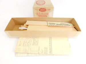 HO Scale Ambroid No. 2 Southern Full-Door Box Car Unpainted Wood Model Kit