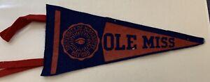 Ole Miss Rebels Vintage Mini Pennant