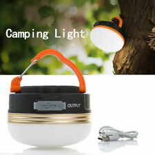 USB rechargeable LED camping lumière tente lanterne super nuit lumineuse lampe