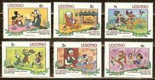 Mint Disney Lesotho cartoons stamps (Mnh)