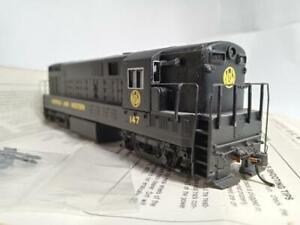 Bachmann Spectrum #81212 HO DC with flywheels FM BabyTrainmaster N&W #147, used