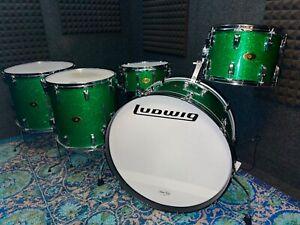 Joe Montineri Custom Drums- Ludwig Bonham reproduction 26/14/16/18 + snare