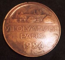 ORIGINAL 1924 PARIS OLYMPICS PARTICIPATION MEDAL
