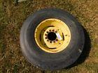 John Deere Tractor Titan 11 -15 3 rib 6 lug tire & rim  Tag #1516