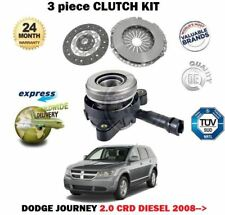 FWD MPV ECE DODGE JOURNEY 2.0CRD Clutch Kit 3pc 140 06//08