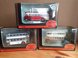 Exclusive First Editions EFE 00 Gauge South Yorkshire Buses