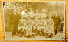 Batley Andrews Football Team 1906-07 Soccer Antique Photo Postcard rppc