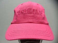 SCHEELS OUTFITTERS - GEAR PASSION SPORTS - S/M SIZE STRAPBACK BALL CAP HAT!