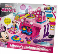 Disney Minnie Mouse Deluxe Kitchen Softee Dough Mold N Play Kitchen Cra-Z-Art 4+