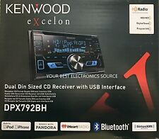NEW KENWOOD DPX792BH Double-DIN Car Stereo w/ Built-in HD Radio & Bluetooth